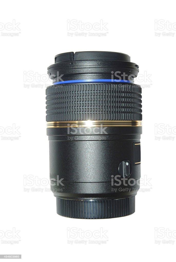 digital camera lens stock photo