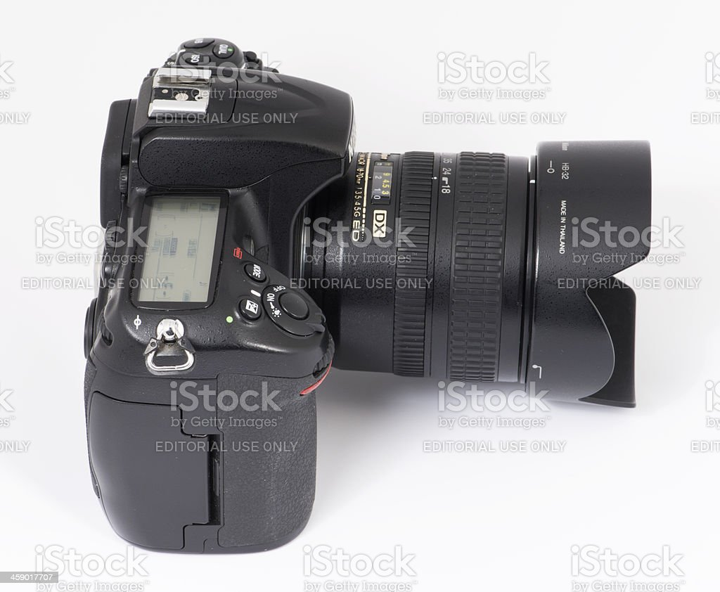 NIKON D300 Digital camera royalty-free stock photo