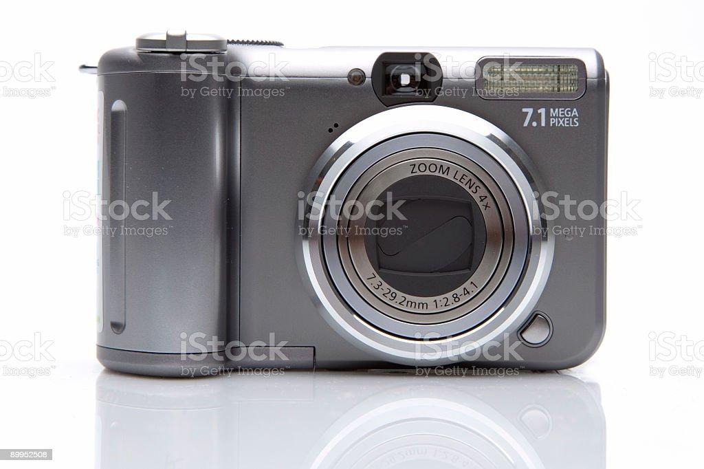 7.1 MB Digital Camera royalty-free stock photo