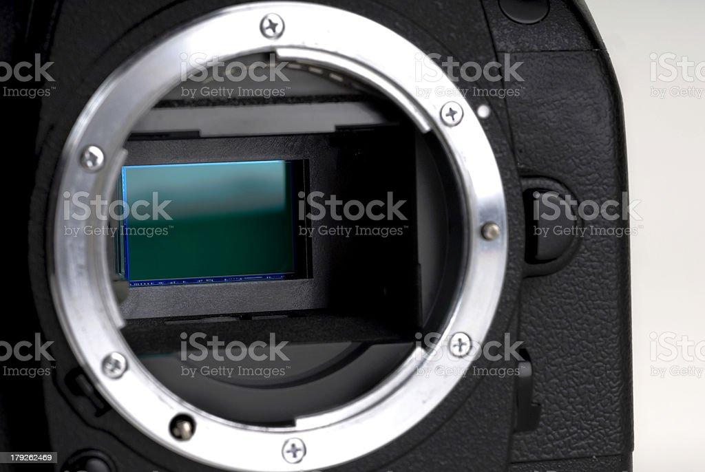 Digital camera Sensor royalty-free stock photo