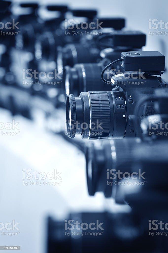 Digital Cameras stock photo