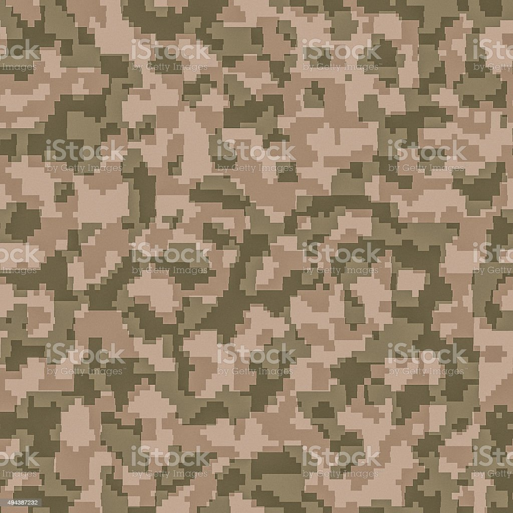 digital camouflage seamless background pattern stock photo