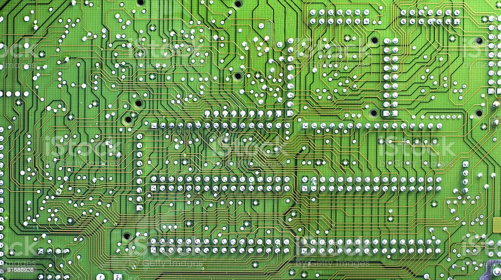 Digital circuit board royalty-free stock photo