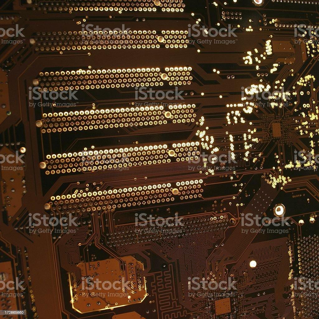 digital circuits two royalty-free stock photo
