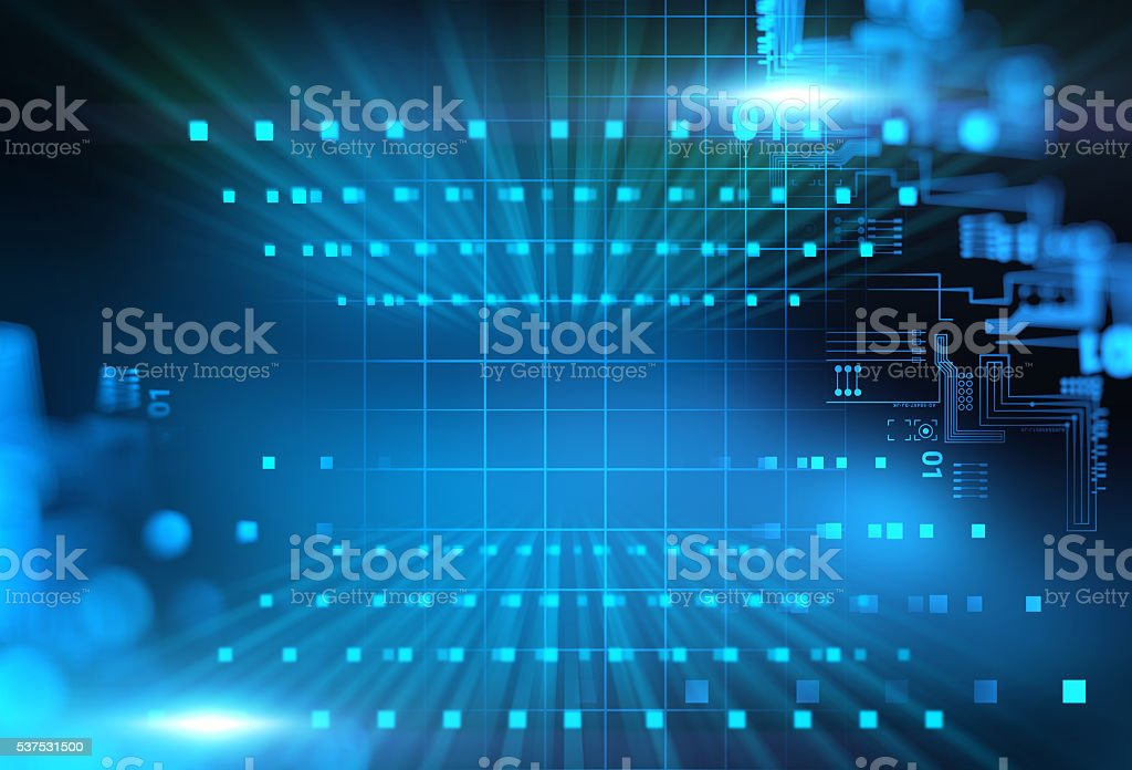 digital code number abstract technology background stock photo