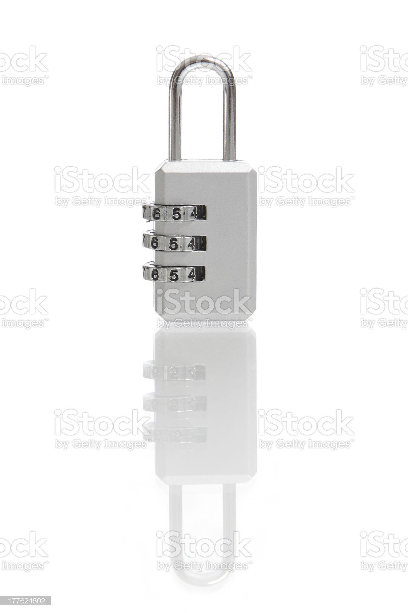 Digital combination lock royalty-free stock photo