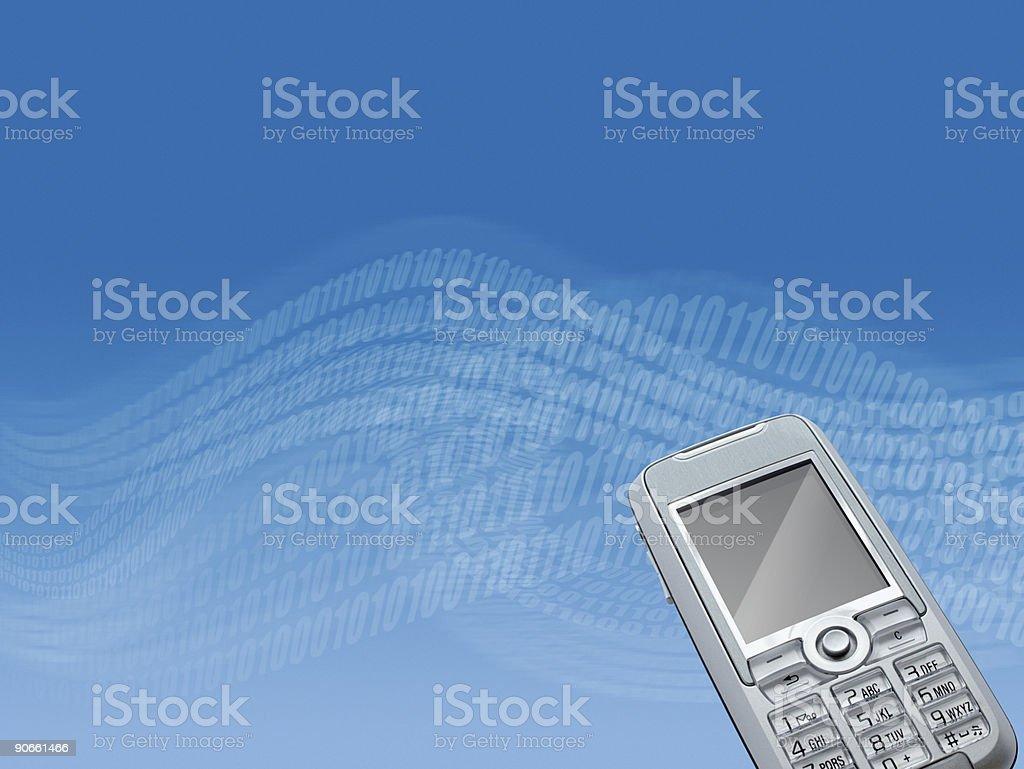 Digital Communication 01 royalty-free stock photo