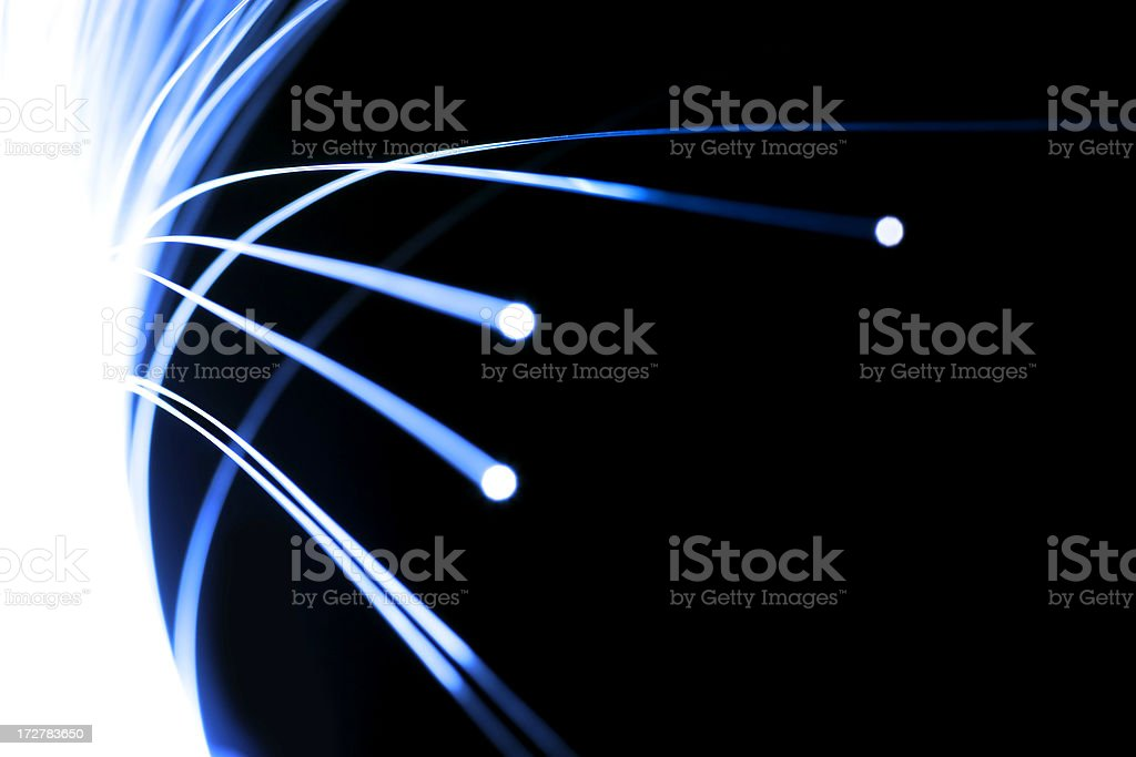 Digital communication stock photo