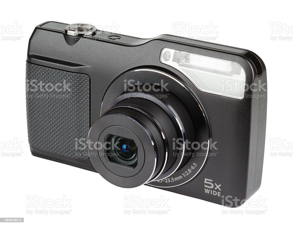 Digital compact camera stock photo