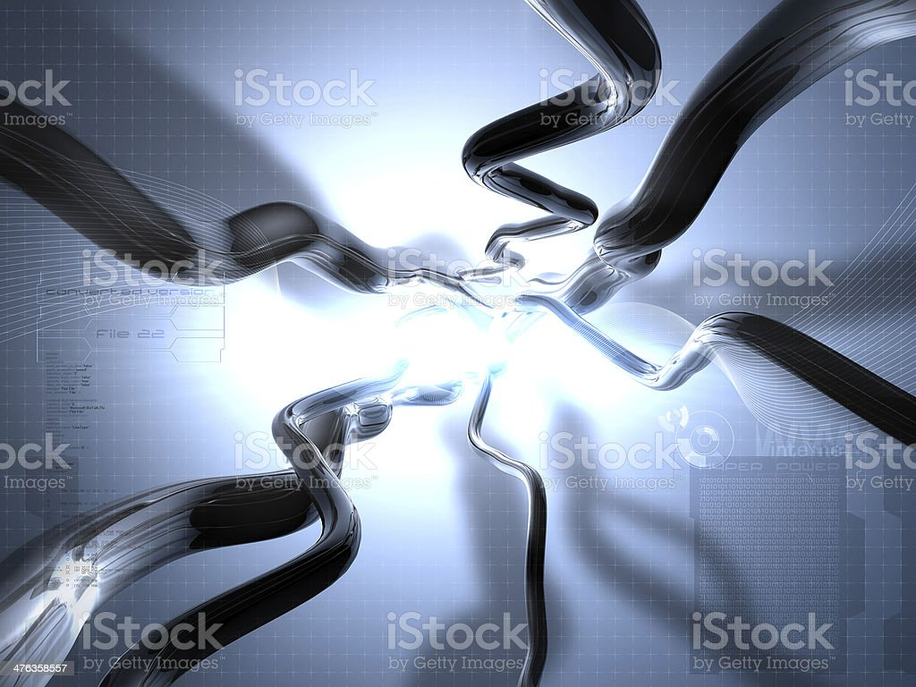 Digital Connection royalty-free stock photo