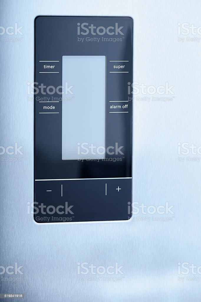 Digital control screen stock photo