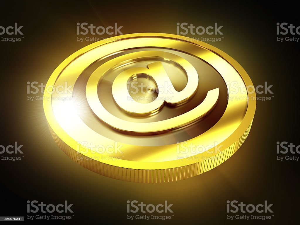 Digital currenct concept royalty-free stock photo