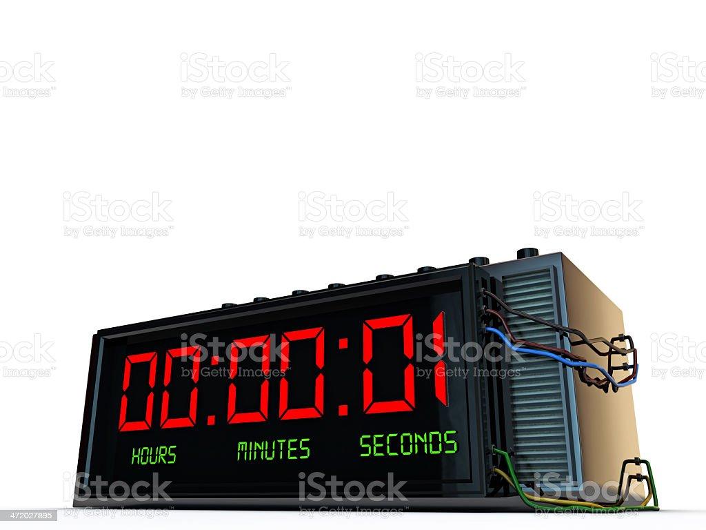 digital detonator stock photo