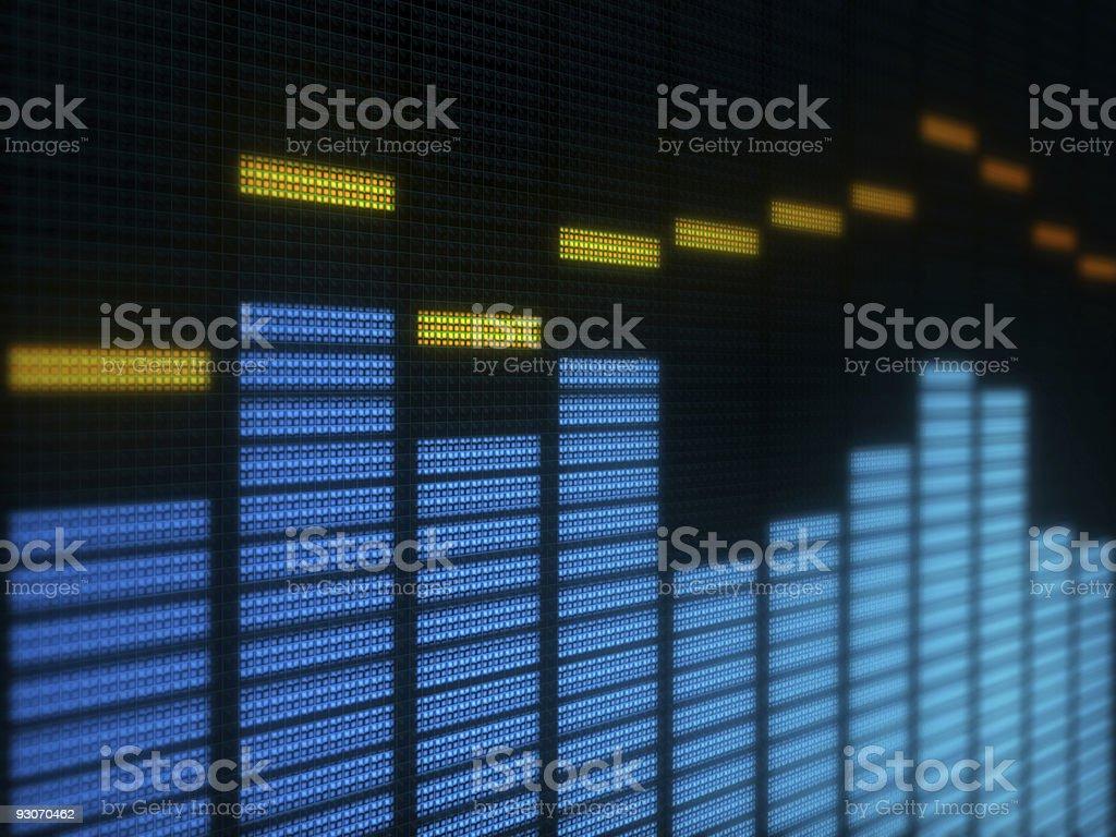 Digital display royalty-free stock photo