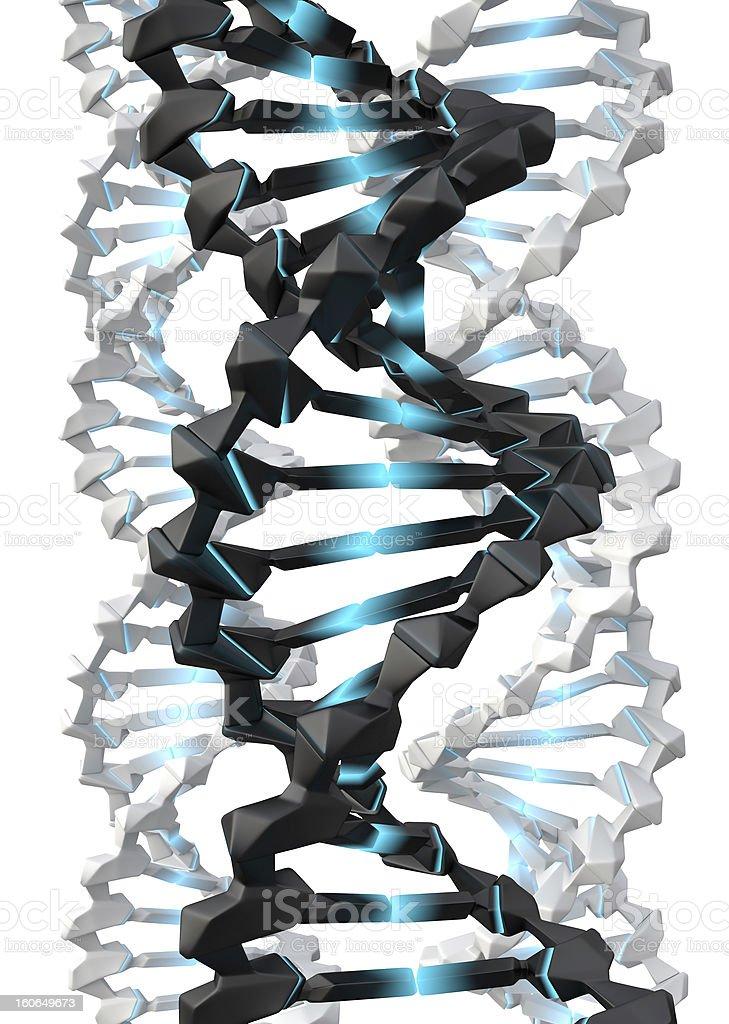 Digital DNA royalty-free stock photo