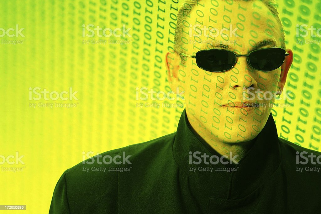 Digital Future stock photo