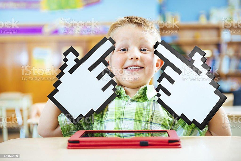Digital Generation at School royalty-free stock photo