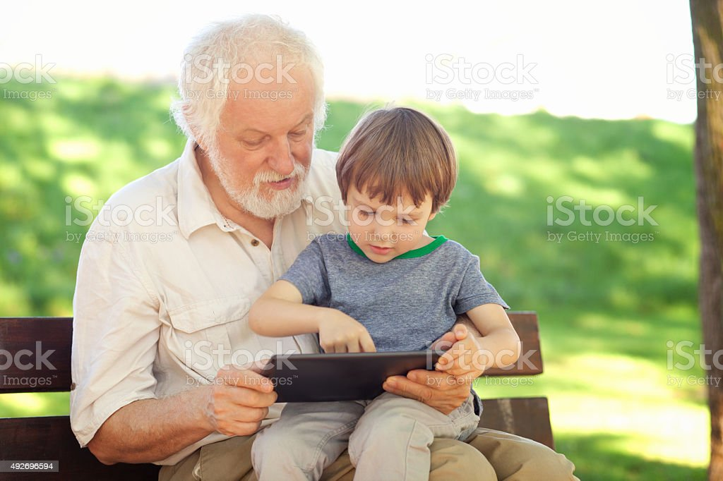 Digital generation stock photo