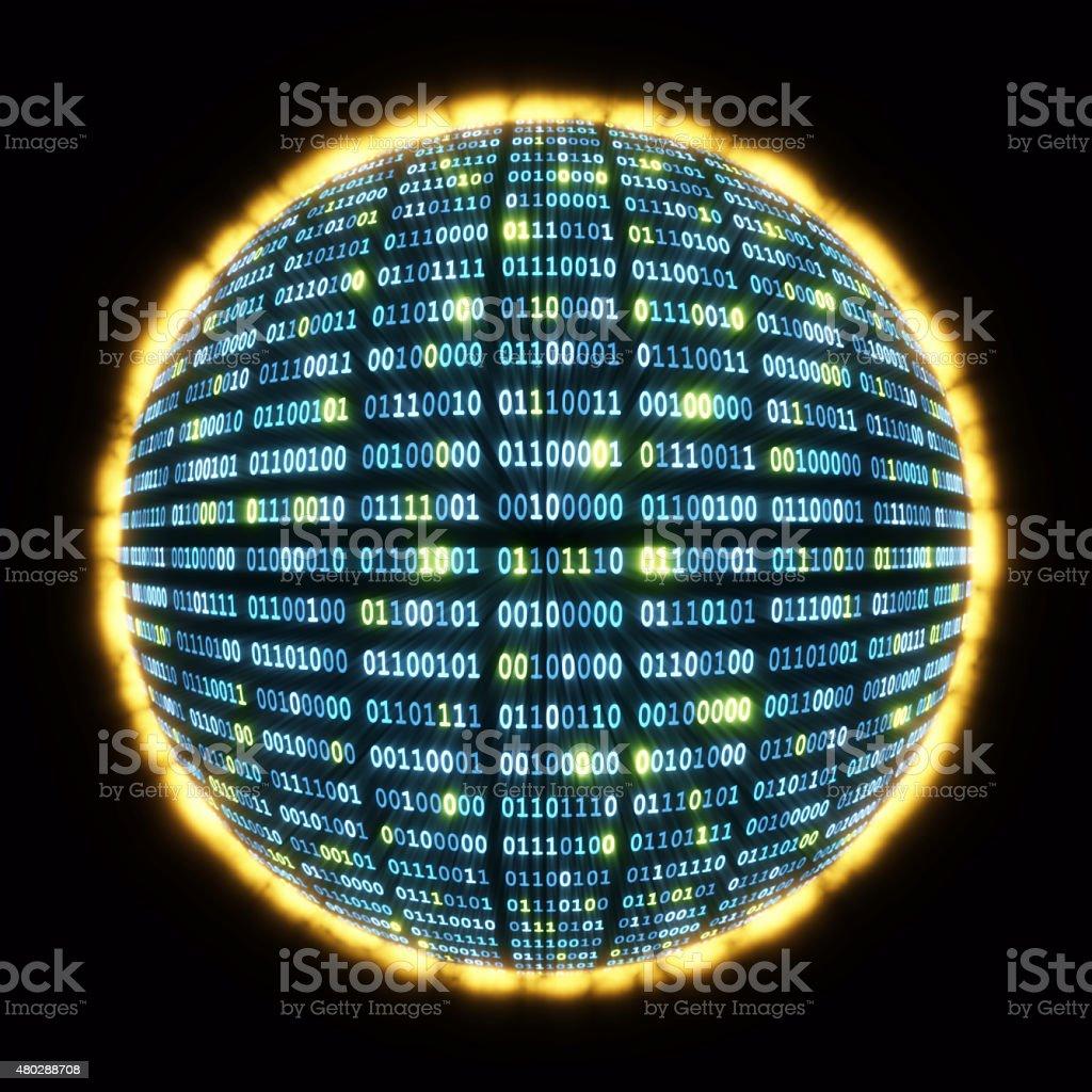Digital Globe A02 stock photo
