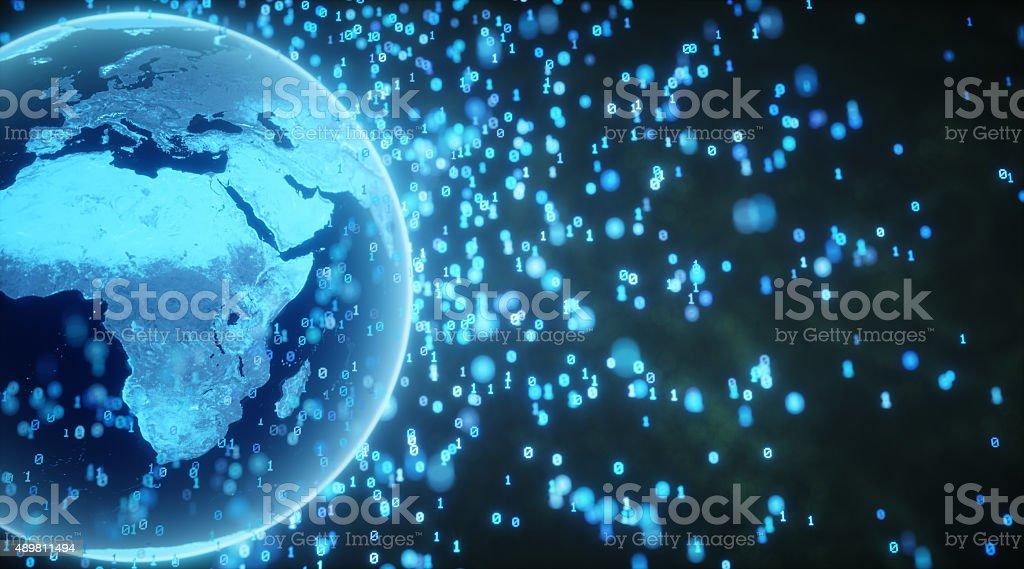 Digital Globe A10 stock photo