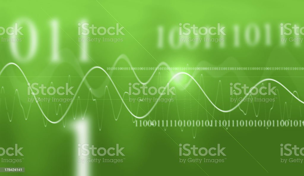 Digital Green stock photo
