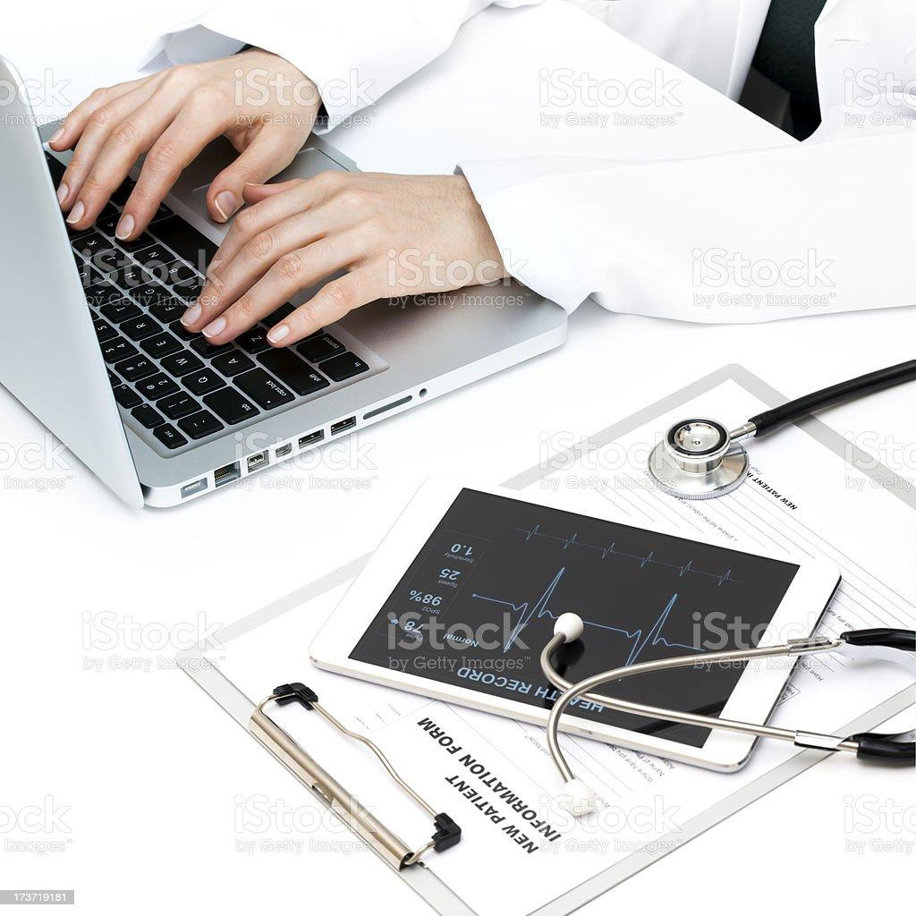 Digital Hospital royalty-free stock photo