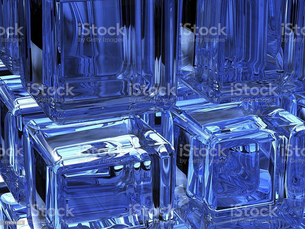 digital ice royalty-free stock photo