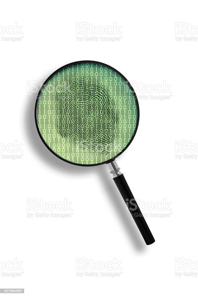 Digital identity stock photo