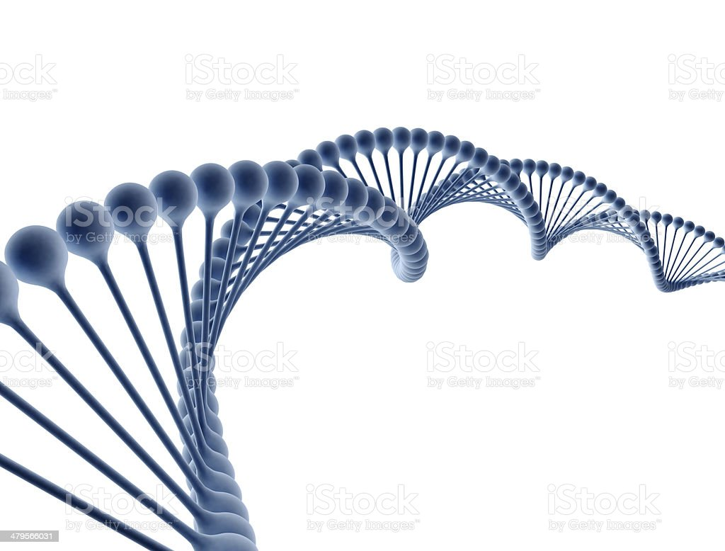 Digital illustration of a dna stock photo