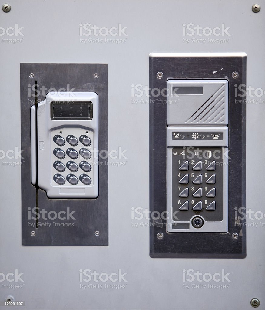 Digital keypads royalty-free stock photo