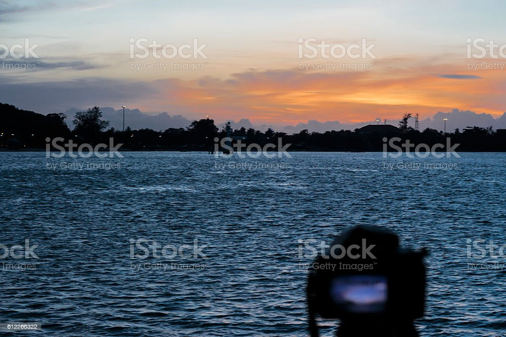 Digital landscape Photography stock photo