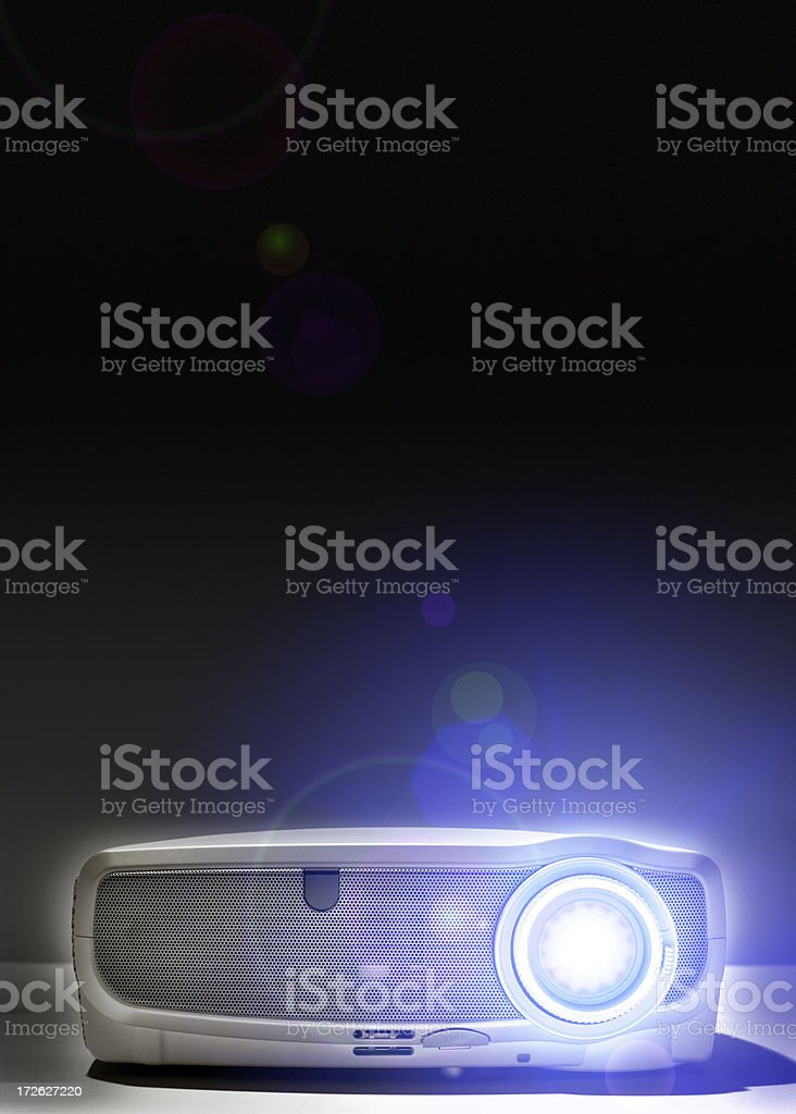 Digital LCD projector royalty-free stock photo