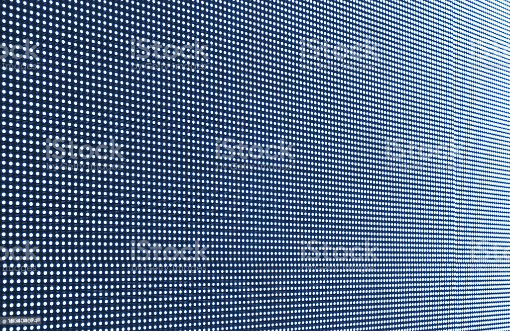 Digital LED screen background stock photo