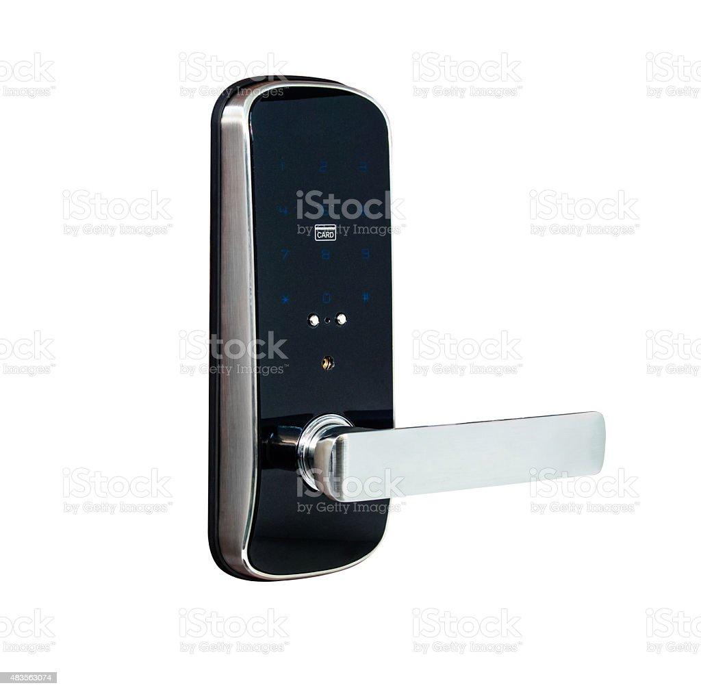 Digital lock royalty-free stock photo
