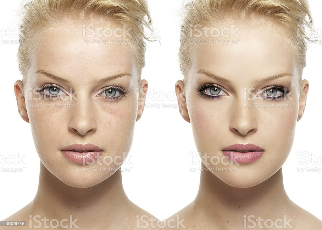 Digital Makeover stock photo