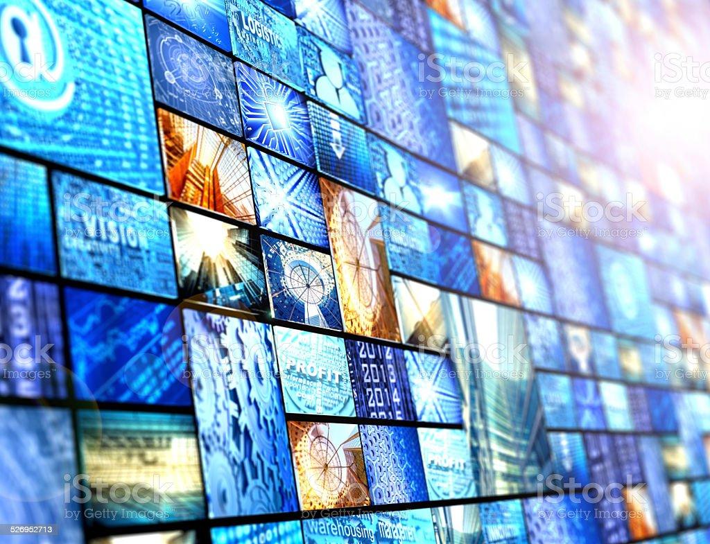 digital media stock photo