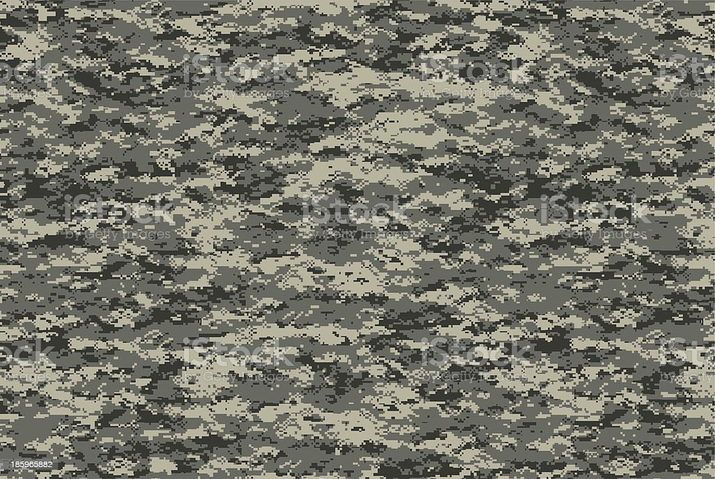 Digital military camo texture stock photo