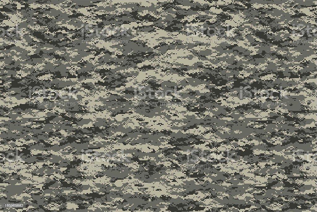 Digital military camo texture stock photo