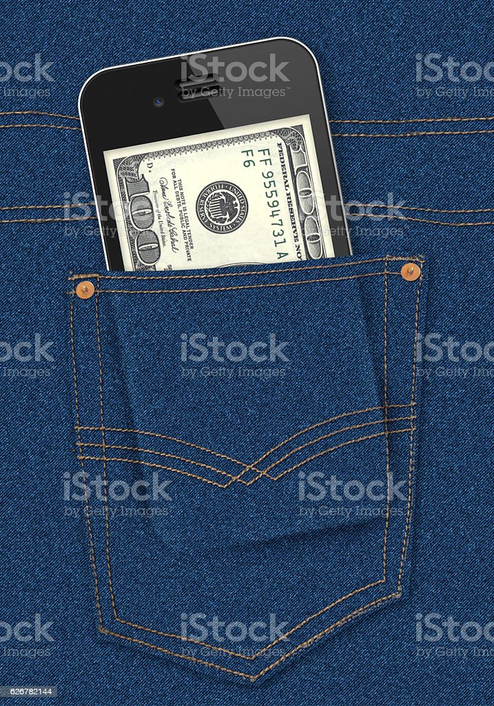 Digital Money stock photo