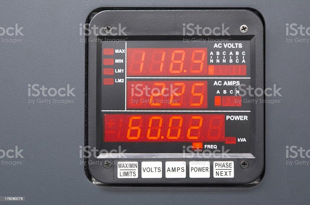 Digital monitor royalty-free stock photo