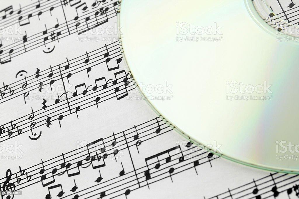 Digital music concept royalty-free stock photo