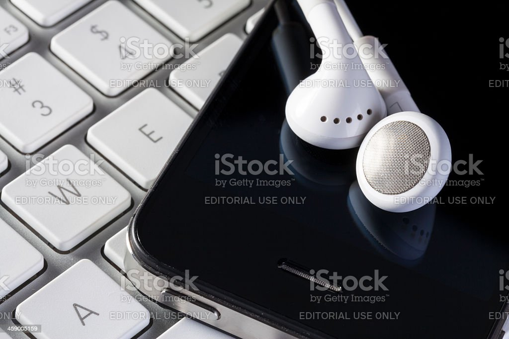 Digital Music royalty-free stock photo