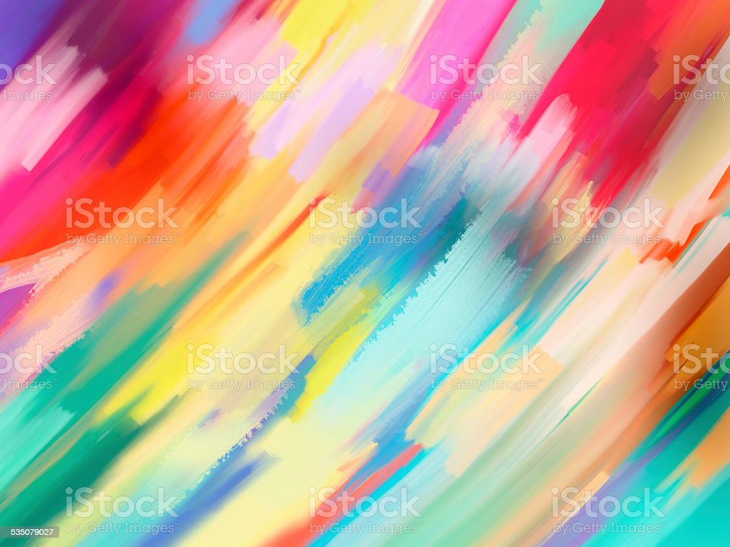 digital painting abstract background vector art illustration