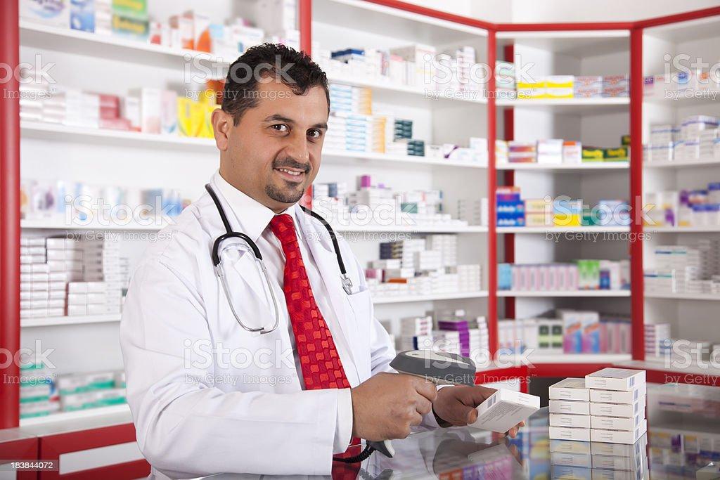 digital Pharmacist royalty-free stock photo