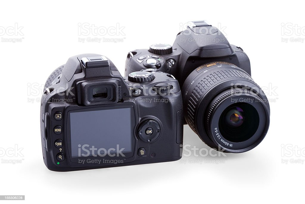 digital photo cameras stock photo