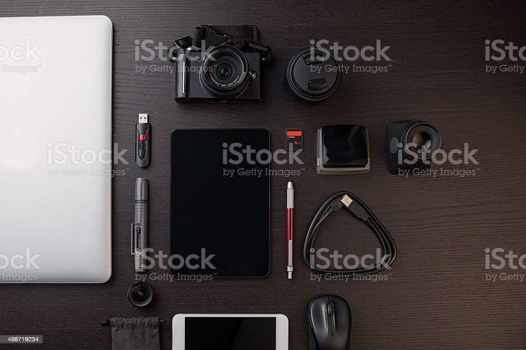 digital photography stock photo