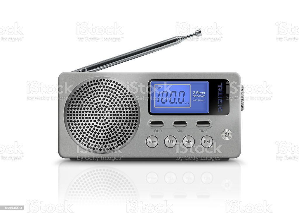 Digital Portable Radio stock photo
