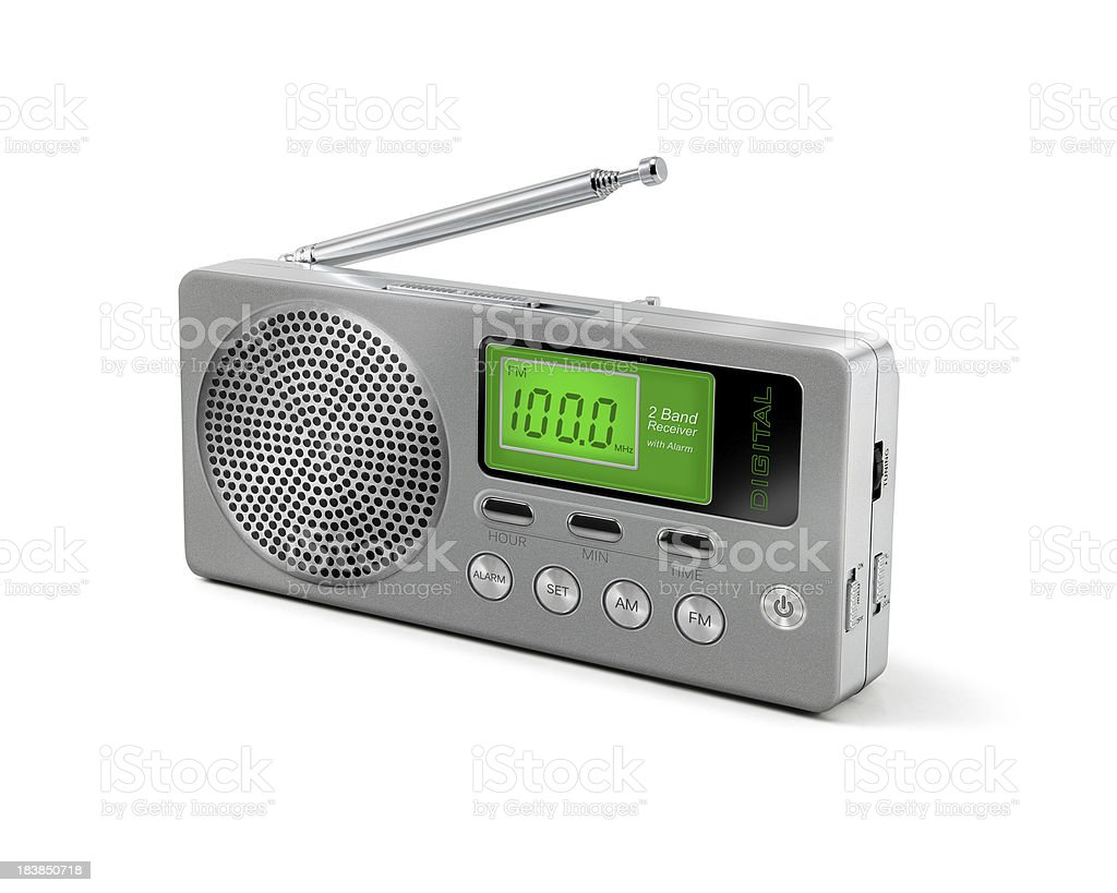 Digital Portable Radio royalty-free stock photo