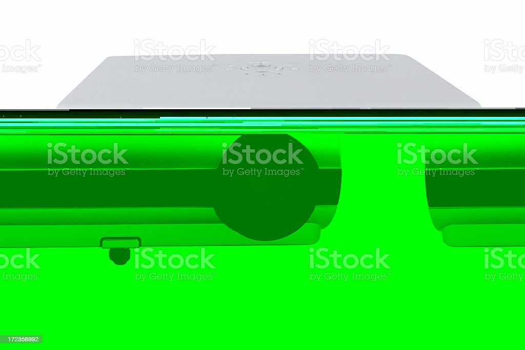 Digital projector royalty-free stock photo