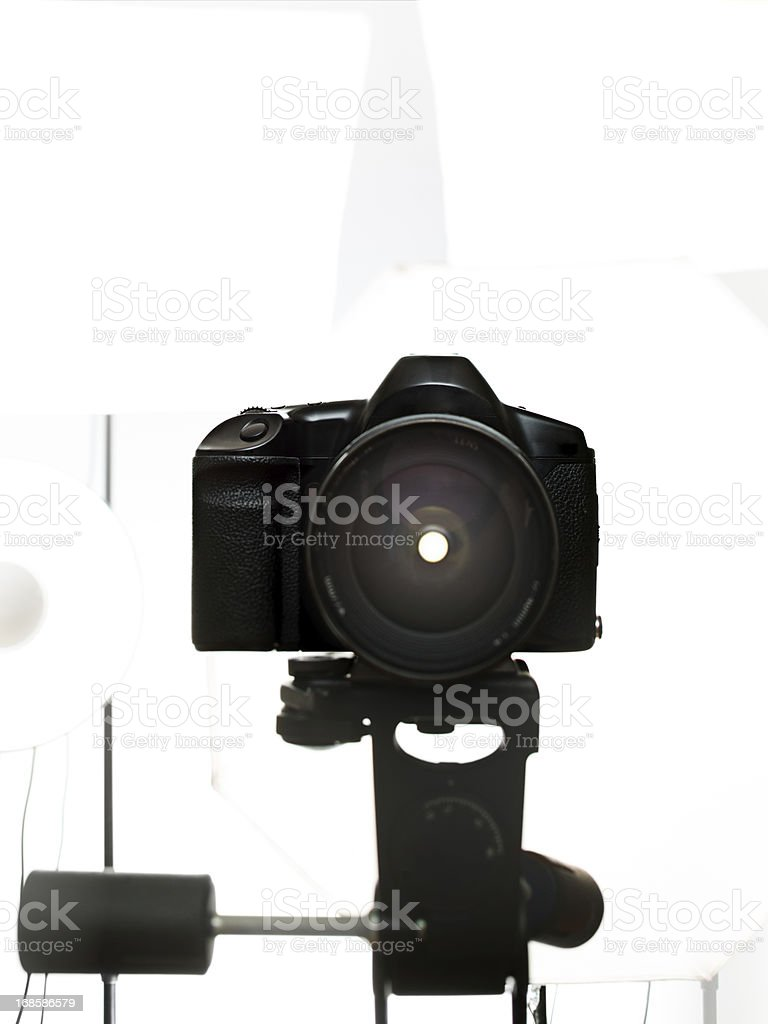 Digital reflex camera royalty-free stock photo